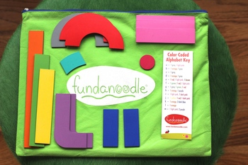 Help your little learner, Learn Letter Formation, Build Hand Strength and Develop and Improve Motor Skills with Fundanoodle I Can Build Letters.