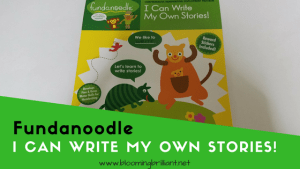 Fundanoodle Friday- I Can Write My Own Stories!