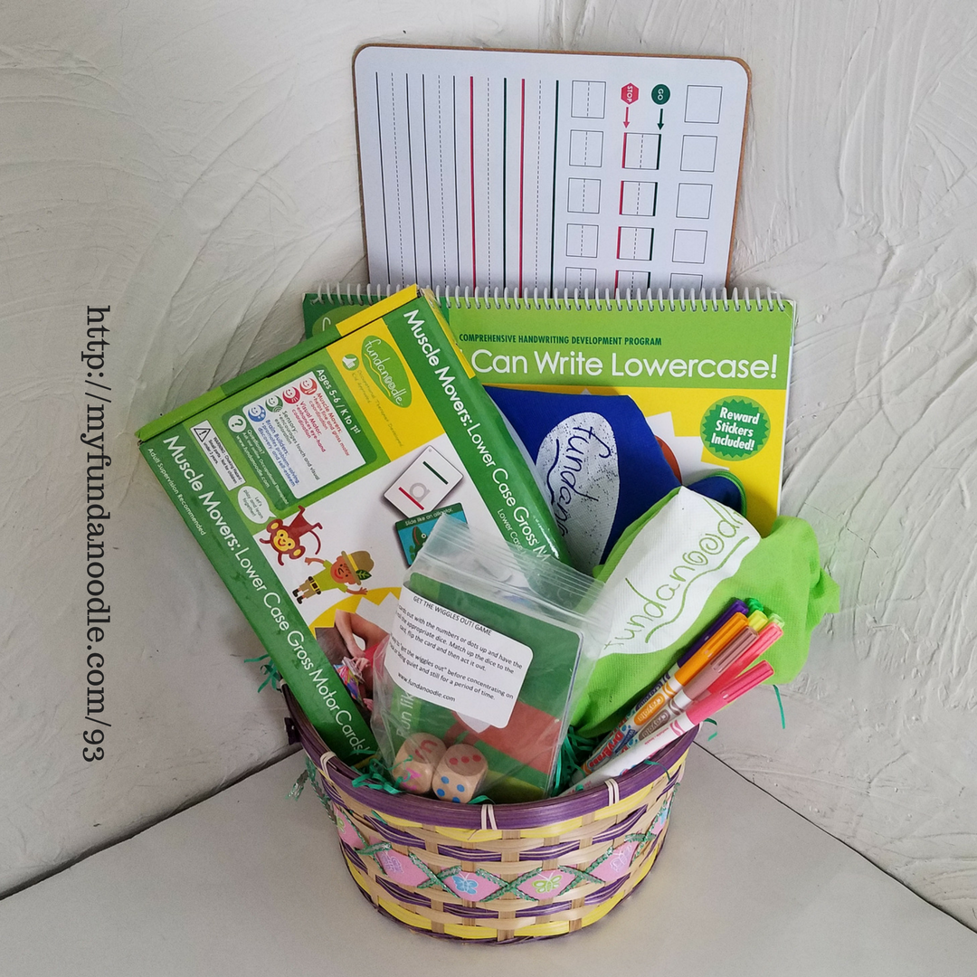 Candy free Easter baskets!