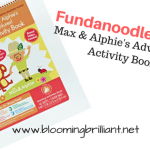 Fundanoodle Friday Max & Alphie's Adventures! Activity Book Level 1
