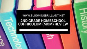 Second Grade Homeschool Curriculum Review