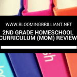 Second Grade Homeschool Curriculum Review
