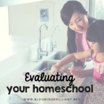 Evaluating Your Homeschool