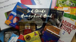 3rd Grade Homeschool Curriculum Haul