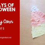 Halloween Candy Corn Craft