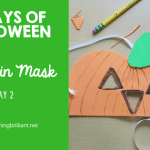 Halloween Pumpkin Mask Craft