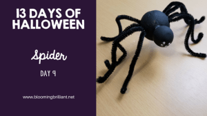 Crafts for Kids-Halloween Spider Craft