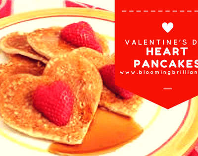 Looking for an easy and delicious breakfast for valentine's day or any day, that expresses your love? Our heart pancakes are an easy way to share your love with your family. Just Because.