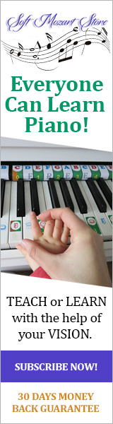 Teach Toddlers Piano with Soft Mozart