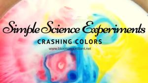Science Sunday- Crashing Colors