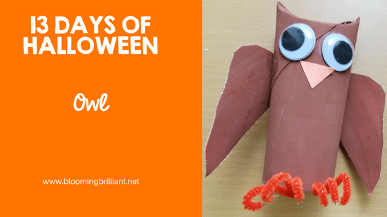 Crafts for Kids- Halloween Owl Craft! Looking for a fun Halloween Craft for your kids? This Halloween Owl Craft is cute and fun perfect to keep around all season. #CraftsforKids