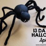 Halloween Spider Craft