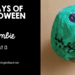 Halloween Zombie Craft