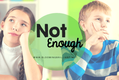 Have you ever worried that your child isn't doing enough? Does this make you feel like they aren't being challenged or taking their homeschooling seriously?
