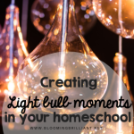 Creating light bulb moments in your homeschool