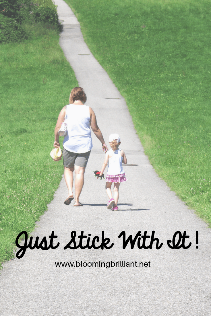 Just stick with it. Homeschooling can be scary and uncomfortable at first but you have to stick with it.