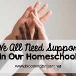 We All Need Support in Our Homeschool