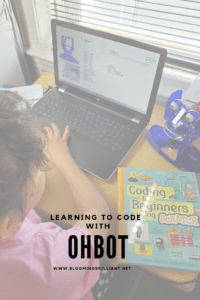 Learning to code with ohbot