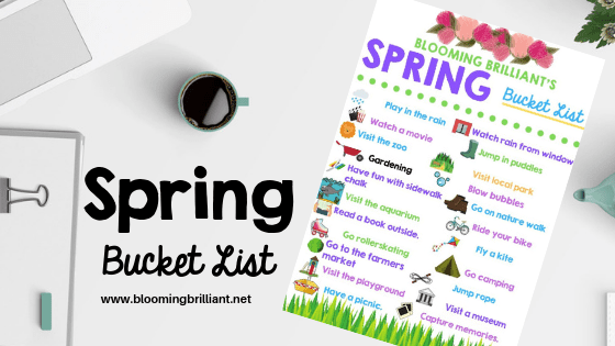 Spring bucket list for families