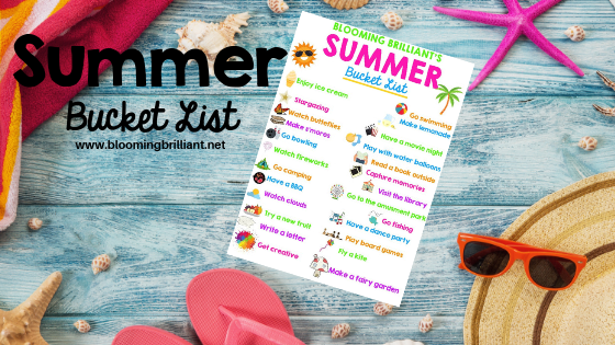 Looking for family fun ideas to make your summer the best you ever had? Grab our Summer Bucket List Printable!