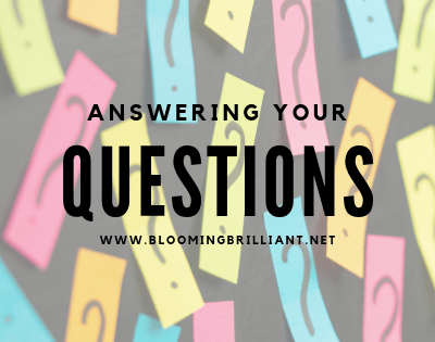 Answering Your Homeschool Questions about homeschooling