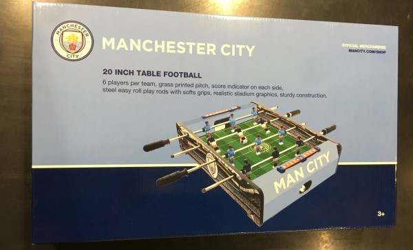 Manchester City 20 Inch Table Football