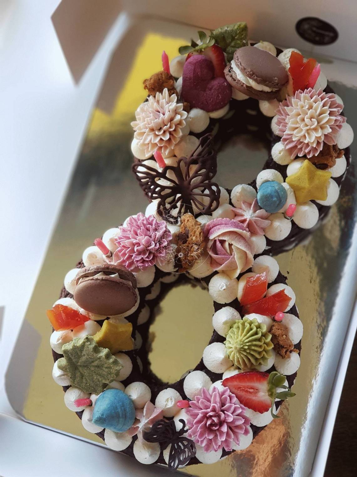 Number/Letter cakes - Bloominghills