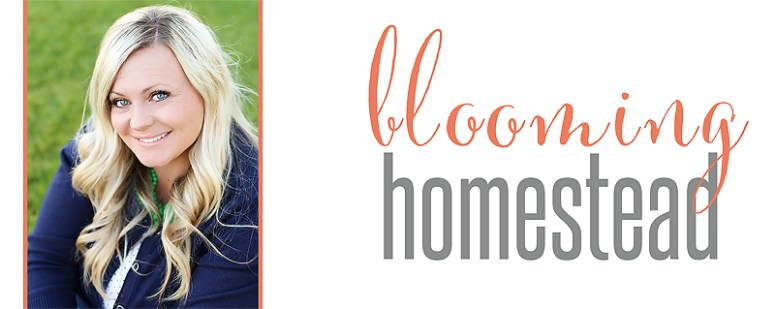 Marie is the author of www.bloominghomestead.com where she shares crafts, recipes, diy, home decor, printables and more.