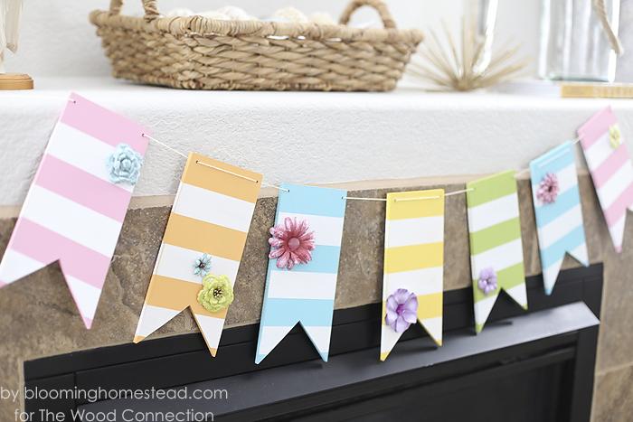 DIY Spring Banner