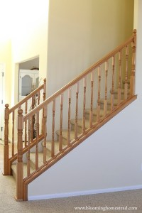 DIY Stair Railing Makeover - Page 2 of 2 - Blooming Homestead