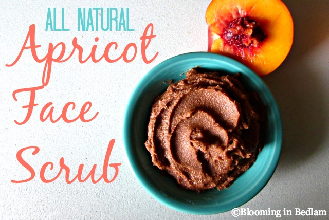 All Natural Apricot Face Scrub. A two ingredient all natural alternative to the popular face scrub, but with no harsh chemicals, perfumes or irritating dyes. Plus it's cheaper to make than buy! I love diy skin care!