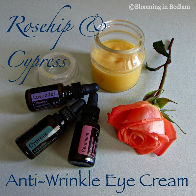 Rosehip Cypress Anti-Wrinkle Eye Cream smoothes fine lines and wrinkles and tightens skin