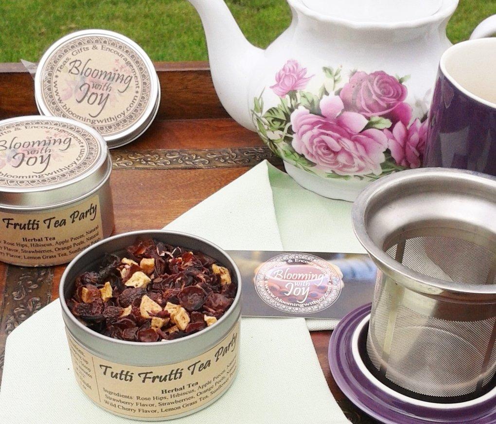tutti frutti tea party tea