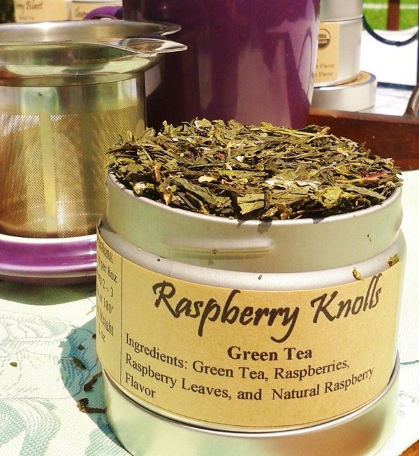 raspberry knolls | Green Tea