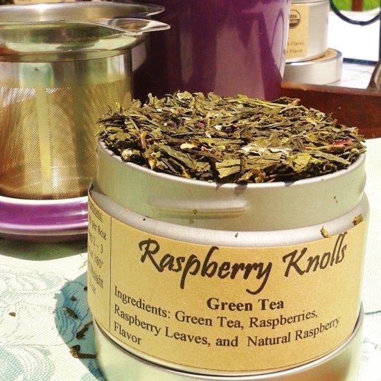 raspberry knolls | Green Tea