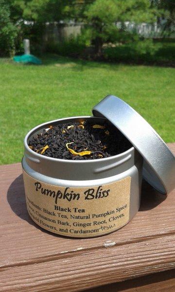 pumpkin bliss tea