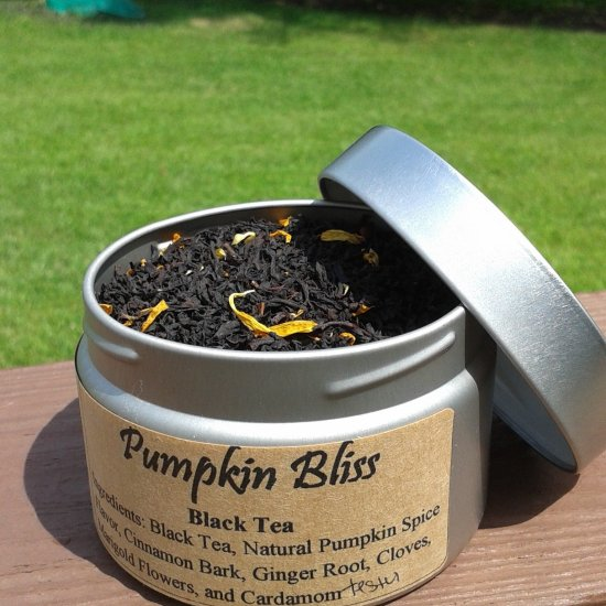 pumpkin bliss tea