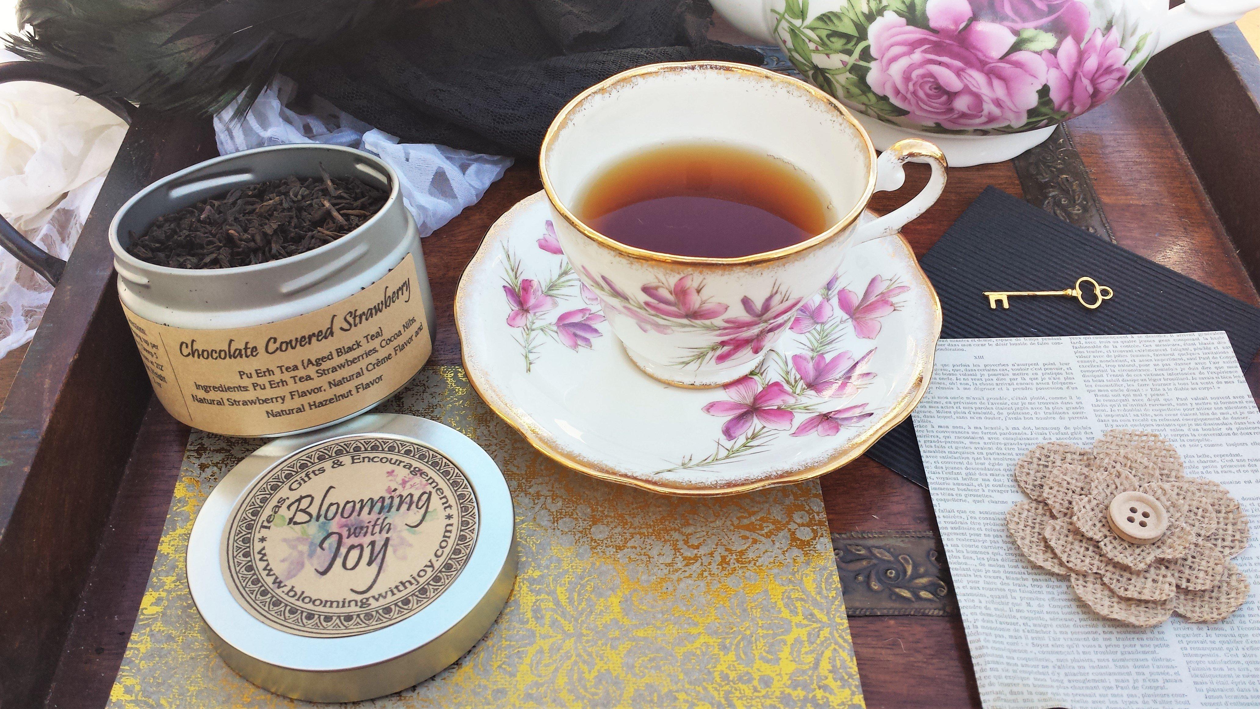 Chocolate Covered Strawberry | Pu Erh Tea