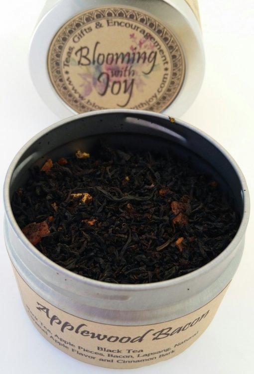 Applewood bacon tea