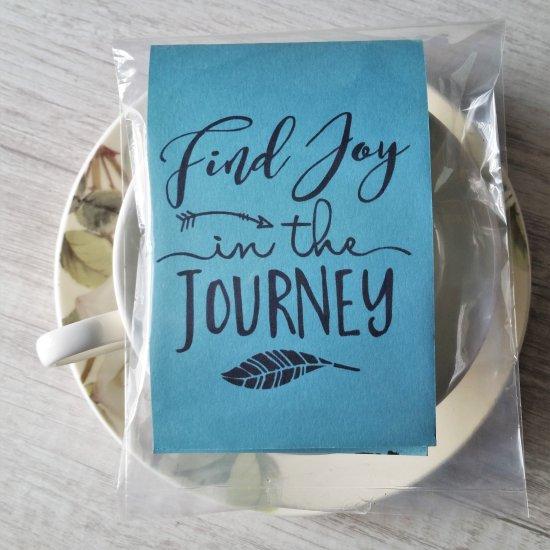 Find Joy in the Journey tea sampler gift