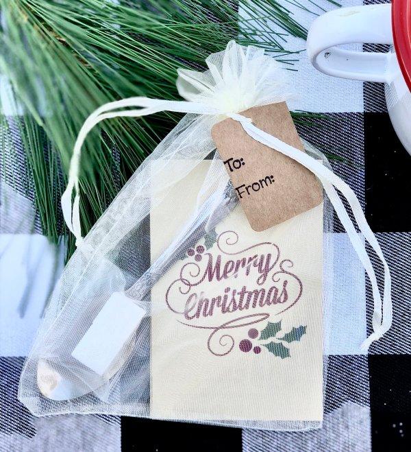Merry Christmas Tea Favor Gifts