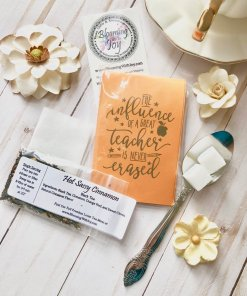 Small Teacher Gift Tea Favor