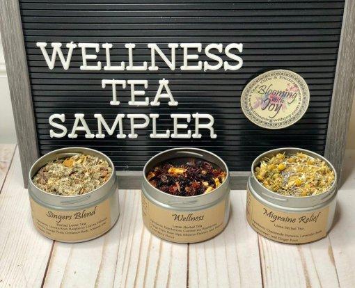wellness tea sampler