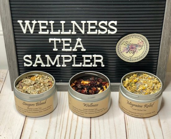 wellness tea sampler