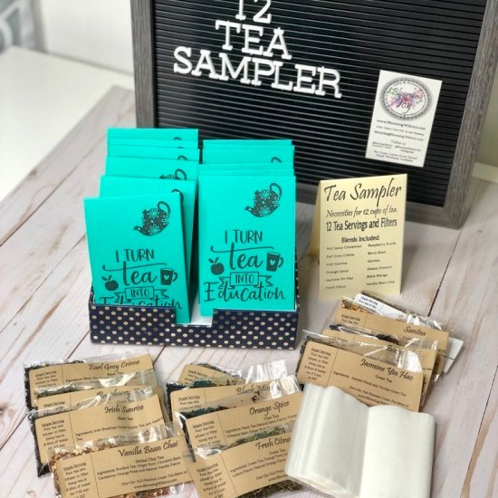 Turn tea into education teacher gift