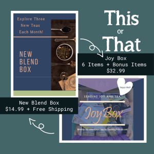 blooming with joy tea subscription box