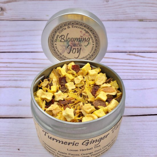turmeric ginger tea herbal loose tea