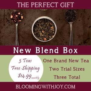 New blend box tea subscription box
