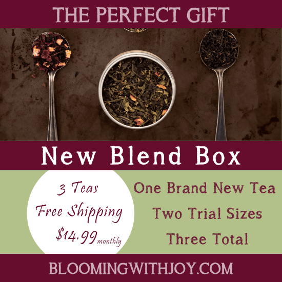 New blend box tea subscription box