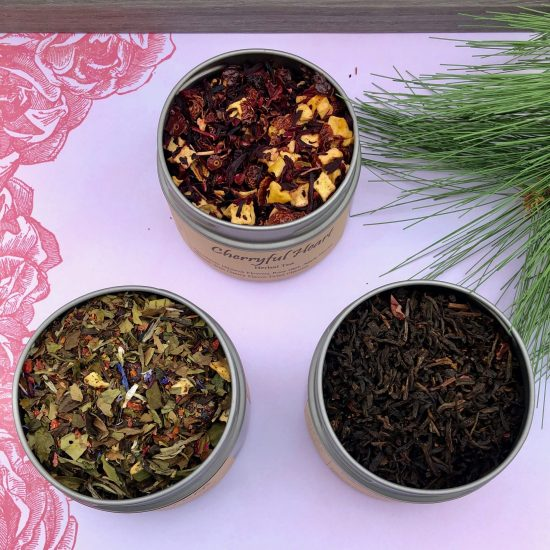true love trio valentines loose tea blends